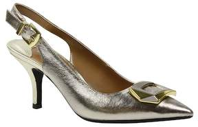 J. Renee Lloret Pointed Slingback Pump (Extended Widths Available)