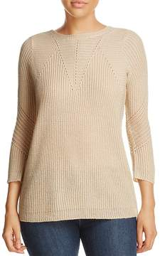 Design History Lace-Up Sweater
