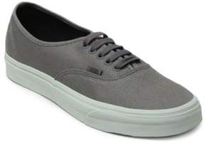 Vans Mens Authentic Canvas Sneakers Grey 6.5