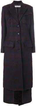 Aalto long buttoned coat