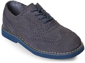 Florsheim Toddler) Grey Bucktown Wingtip Derby Shoes