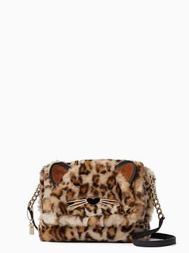 Kate Spade Run wild leopard-print muff