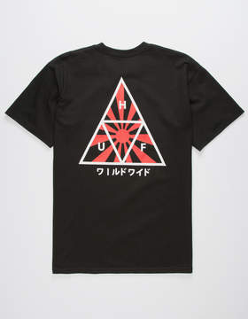 HUF Rising Sun Mens T-Shirt