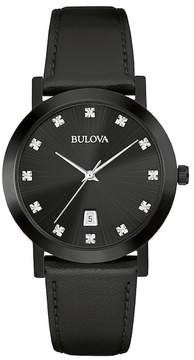 Bulova Men's Quartz Diamond Watch, 38mm - 0.05 ctw