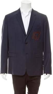 Christian Dior Virgin Wool Windowpane Sport Coat