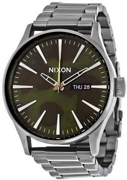 Nixon Sentry Green Oxyde Dial Men's Watch A3562069