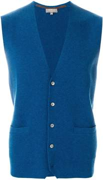 N.Peal classic buttoned waistcoat