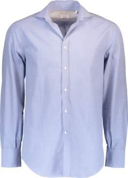 Brunello Cucinelli Spread Twill Check Shirt