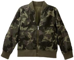 Lucky Brand Reversible Bomber Jacket (Little Boys)