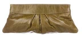 Lauren Merkin Leather Eve Clutch