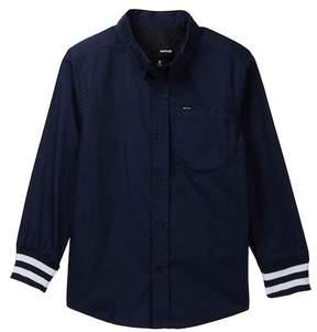 Hurley Hawthorne Long Sleeve Woven Shirt (Big Boys)