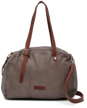 Liebeskind Berlin Camden Snake Embossed Leather Rounded Shoulder Bag