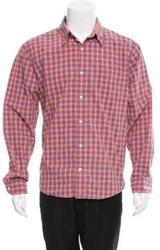 Jack Spade Plaid Button-Up Shirt