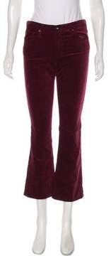 Adriano Goldschmied Velvet Mid-Rise Pants w/ Tags