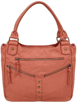 ST. JOHN'S BAY Zipper Double Shoulder Bag