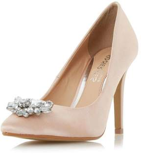 Head Over Heels *Head Over Heels by Dune Nude 'Annette' High Heel Shoes