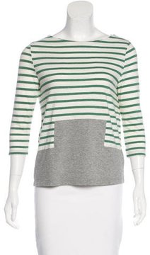 Boy By Band Of Outsiders Striped Jersey Top
