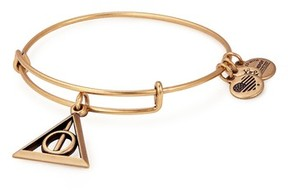 Alex and Ani Women's Harry Potter(TM) Deathly Hallows(TM) Adjustable Wire Bangle