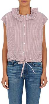 Atlantique Ascoli Women's Anémone Striped Cotton Top