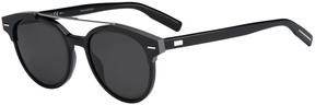 Safilo USA Dior Homme Black Tie 220 Round Sunglasses