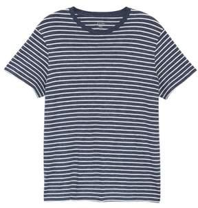 J.Crew Stripe Slub Cotton T-Shirt