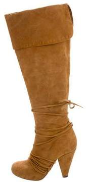 3.1 Phillip Lim Suede Knee-High Boots