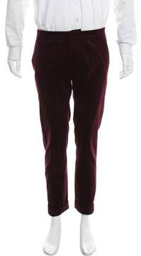 Band Of Outsiders Flat Front Corduroy Pants
