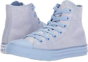 Converse Chuck Taylor All Star Mono Shine Hi Girls Shoes