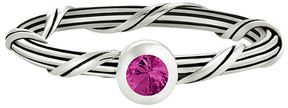Peter Thomas Roth Signature Romance Silver 0.13 Ct. Ruby Ring