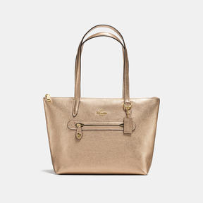 COACH Coach Taylor Tote - LIGHT GOLD/PLATINUM - STYLE