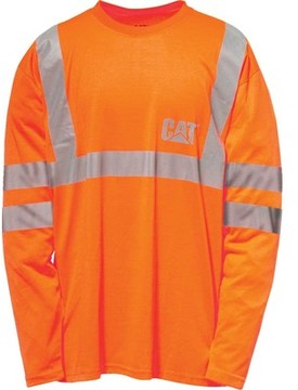 Caterpillar HI VIS Long Sleeve Tee (Men's)