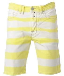Cycle Men's White Cotton Shorts.