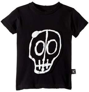 Nununu Skull Mask Patch T-Shirt Boy's T Shirt