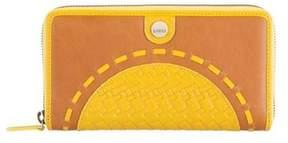 Lodis Women's Rodeo Woven Rfid Perla Zip Wallet.