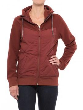 Oakley Bronc Full-Zip Fleece Hoodie - Insulated Front (For Women)
