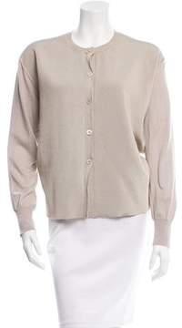 Celine Long Sleeve Button-Up Cardigan