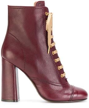 L'Autre Chose lace up ankle boots