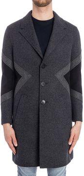 Neil Barrett Wool Blend Coat