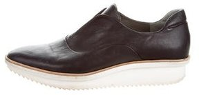 Reed Krakoff Leather Round-Toe Oxfords