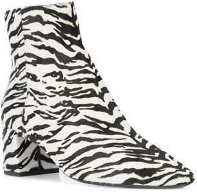 Saint Laurent Tiger print ankle boots