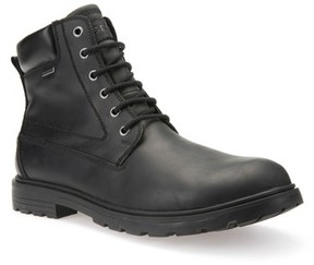 Geox Men's Makim Waterproof Plain Toe Boot