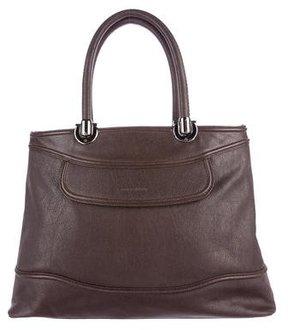 Giorgio Armani Large Leather Tote