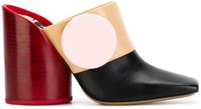 Jacquemus oversized button mules
