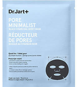 Dr. Jart+ Pore Minimalist Black Charcoal SheetMask, 0.8 oz