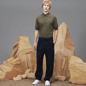 Lacoste Men's Fashion Show Wide Fit Wool Interlock Knit Pants