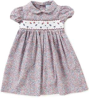 Edgehill Collection Baby Girls 3-24 Months Floral Smocked Dress
