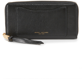 Marc Jacobs Recruit Standard Continental Wallet - BLACK - STYLE