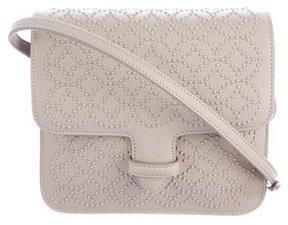 Alaia Arabesque Studded Leather Crossbody Bag