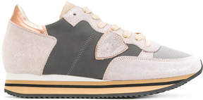 Philippe Model contrast sneakers