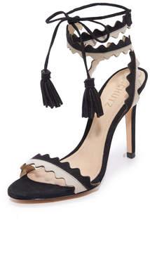 Schutz Lisana Wrap Sandals